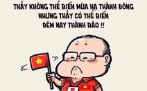Mạng xã hội vỡ oà niềm vui chiến thắng: Việt Nam vô địch!
