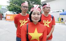Đến sân sớm 4 tiếng, CĐV Việt Nam tin U22 Việt Nam vô địch SEA Games 2019