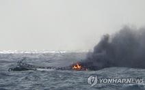 Tìm thấy 1 thi thể người Việt Nam trong vụ cháy tàu cá ở Hàn Quốc