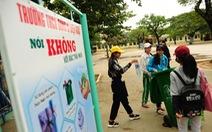 Dạy học trò ứng xử tử tế với môi trường