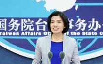 Trung Quốc phản đối dự luật 'chống xâm nhập' của Đài Loan