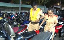 Video: Tạm giữ hàng trăm xe máy 'đi bão' lạng lách, đánh võng, nẹt pô…