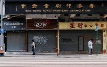 Mùa mua sắm Giáng sinh buồn ở Hong Kong, ngành bán lẻ có nguy cơ biến mất