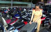 Hơn 250 xe đi 'bão' lạng lách, nẹt pô… bị tạm giữ, trụ sở công an chật kín xe vi phạm