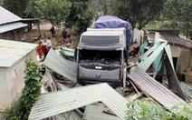 Tài xế xe container đâm sập nhà dân có nồng độ cồn trong máu cao
