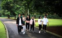 Tổng thống Indonesia khẳng định không can thiệp việc tranh cử của con trai và con rể