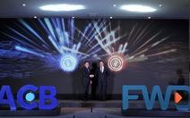 ACB và FWD hợp tác phân phối bảo hiểm trực tuyến qua ngân hàng tại Việt Nam