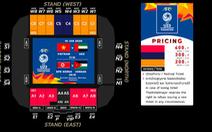 Vé xem U23 Việt Nam thi đấu giải U23 châu Á 2020 giá cao nhất khoảng 300.000 đồng