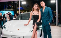 Thanh Hằng, Trọng Hiếu tham dự ra mắt dòng xe thuần điện Porsche Taycan