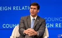 Bộ trưởng Quốc phòng Mỹ lên án Trung Quốc xâm phạm chủ quyền các nước nhỏ
