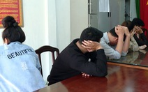 Nhóm thanh niên 9X thuê biệt thự để sử dụng ma túy