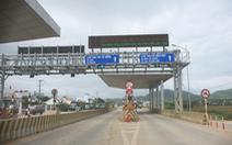 BOT Ninh Xuân buộc phải xả trạm sau ít giờ thu phí