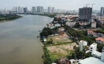 TP.HCM tổng kiểm tra 101 dự án ở 9 quận huyện sát sông Sài Gòn