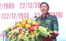 Bộ trưởng Ngô Xuân Lịch mong cán bộ quân đội nghỉ hưu chia sẻ kinh nghiệm