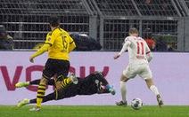Dortmund đánh rơi chiến thắng trước Leipzig sau 3 lần dẫn trước