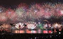 Hong Kong hủy bắn pháo hoa đón năm mới ở cảng Victoria