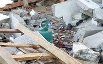 Thêm 1 người chết trong vụ nổ lớn gây sập nhà tại Nghệ An