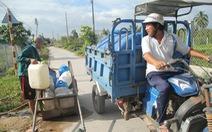 Mặn xâm nhập Đồng bằng sông Cửu Long có thể vượt mức lịch sử