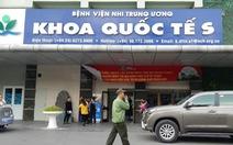 Bệnh viện Nhi T.Ư thừa nhận cấp thuốc hết hạn cho bệnh nhi