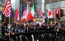 Người Hong Kong biểu tình kêu gọi quốc tế gây sức ép lên Trung Quốc