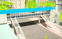 TP.HCM xây cầu bộ hành có thang máy đầu tiên trước Bệnh viện Ung bướu