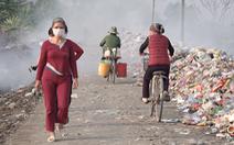 Video: Con đường ô nhiễm 'tấn công' cuộc sống người dân