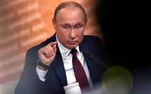"""Tổng thống Putin không tin ông Trump mất chức vì """"bịa đặt"""" của Đảng Dân chủ Mỹ"""