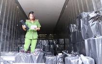3 xe tải mới chở hết gần 4.500 chai rượu ngoại lậu