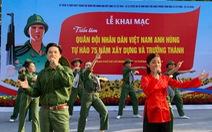 Khai mạc triển lãm ảnh về quân đội nhân dân Việt Nam anh hùng