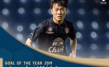 Xuân Trường nhận giải Bàn thắng đẹp nhất năm của Thai League