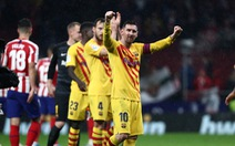 Messi ghi bàn thắng muộn giúp Barca lấy lại ngôi đầu từ Real Madrid