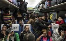 Chuẩn bị 'Xuân vận', Trung Quốc bán hơn 100 triệu vé tàu Tết trong 8 ngày