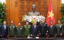 Thủ tướng tiếp lãnh đạo quân đội các nước dự kỷ niệm 75 năm thành lập Quân đội nhân dân