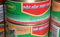 'Thịt chó đóng hộp' sản xuất ở Ninh Bình?
