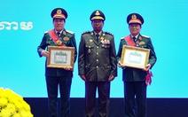 Trao huân chương của Việt Nam, Lào, Campuchia cho các cá nhân, tập thể