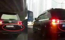 Cục CSGT xác định xử lý nghiêm xe biển số giả, xe lật biển số