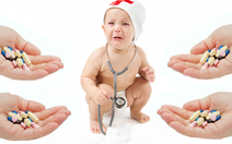 Trẻ sơ sinh uống kháng sinh, lớn lên bị dị ứng