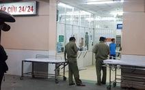 Bệnh nhân nghi nổ súng tự sát tại Bệnh viện Trưng Vương