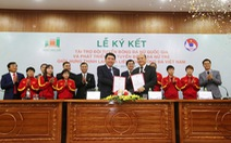Hưng Thịnh Land tài trợ cho bóng đá nữ Việt Nam 100 tỉ đồng
