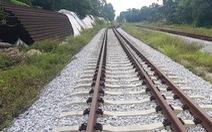 Khó bán khối 'sắt vụn' trăm tỉ của dự án đường sắt dang dở