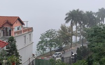 Sương mù hạn chế tầm nhìn ở miền Bắc còn kéo dài nhiều ngày