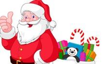 Ông già Noel đọc thư các cháu và... bó tay