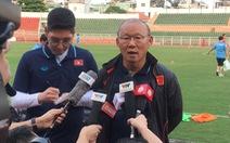 HLV Park Hang Seo: 'Có những rủi ro khi U23 Việt Nam thiếu Văn Hậu'