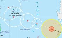 Bão Phanfone cách đảo Song Tử Tây 530km, sóng biển cao 6-8m