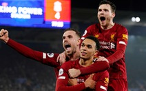 'Vùi dập' Leicester City 4-0, Liverpool rộng cửa vô địch