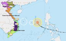 Liên lạc đưa 37 tàu cá ra khỏi vùng nguy hiểm dự kiến bão Phanfone đi qua