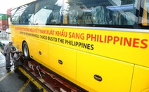 Thaco xuất khẩu xe buýt qua Philippines