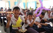 Cây mùa xuân 2019 vui tết  với học sinh ở Tây Ninh