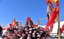 Con cá mè hoa khổng lồ bán với giá gần 10 tỉ đồng