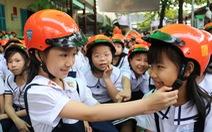 Phát động chiến dịch 'Đội mũ cho con'